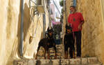 People in the old city  2