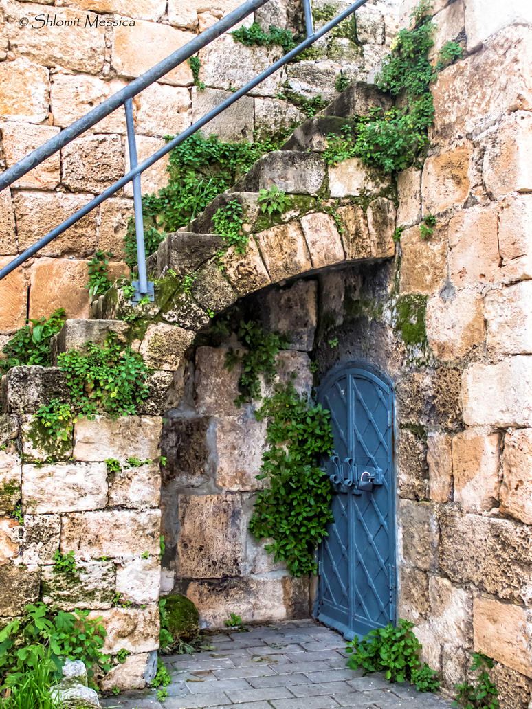 Entrance to the flourmill by ShlomitMessica
