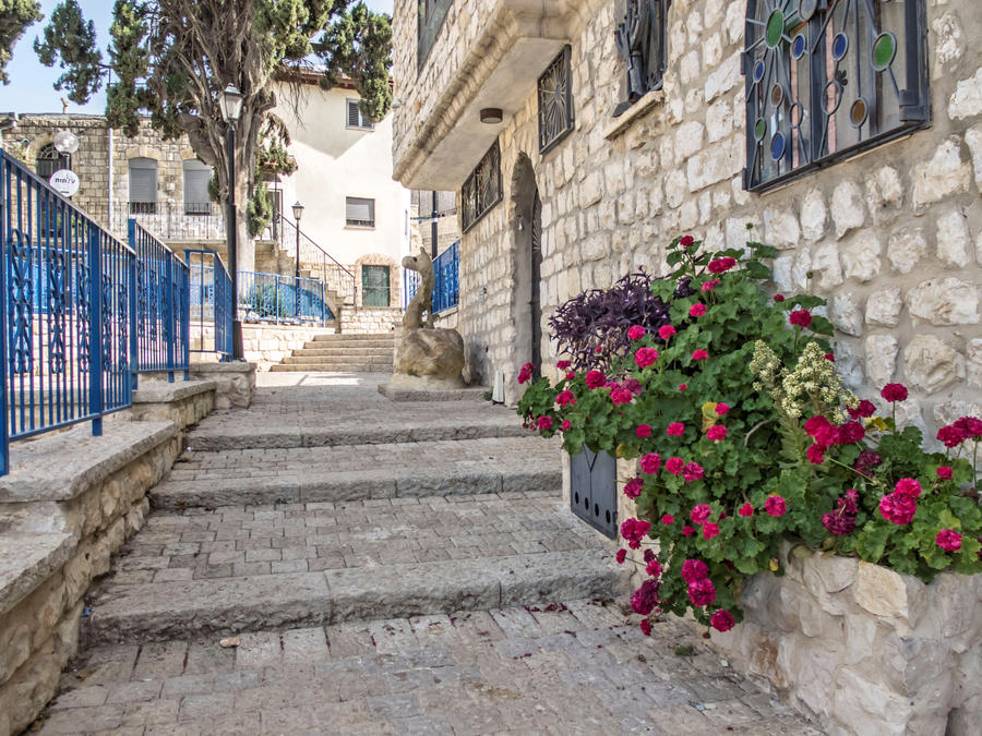 Spring in the old city by ShlomitMessica