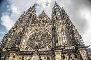 ST Vitus cathedral , Prague by ShlomitMessica