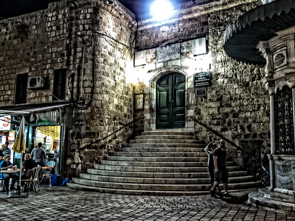 Acre by night by ShlomitMessica