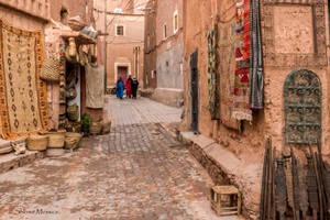 Inside  the kasbah by ShlomitMessica