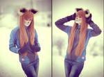 crazy lady fox