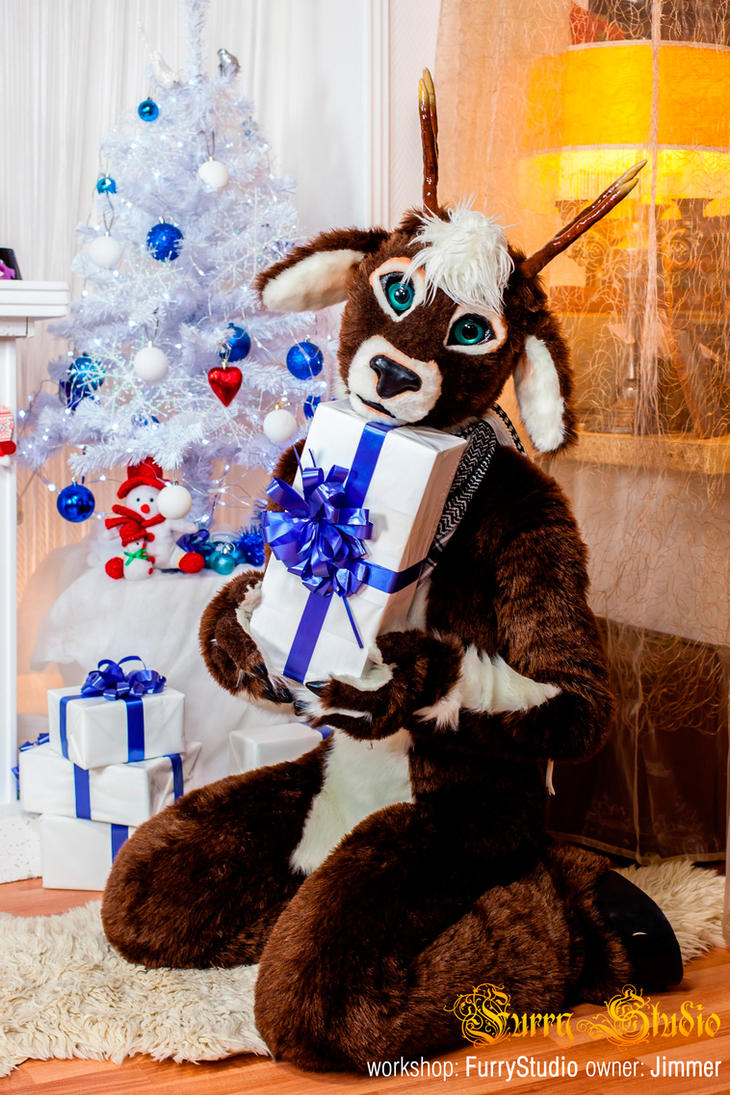 Deer Fursuit Ai Im Your Present By Miriambast On