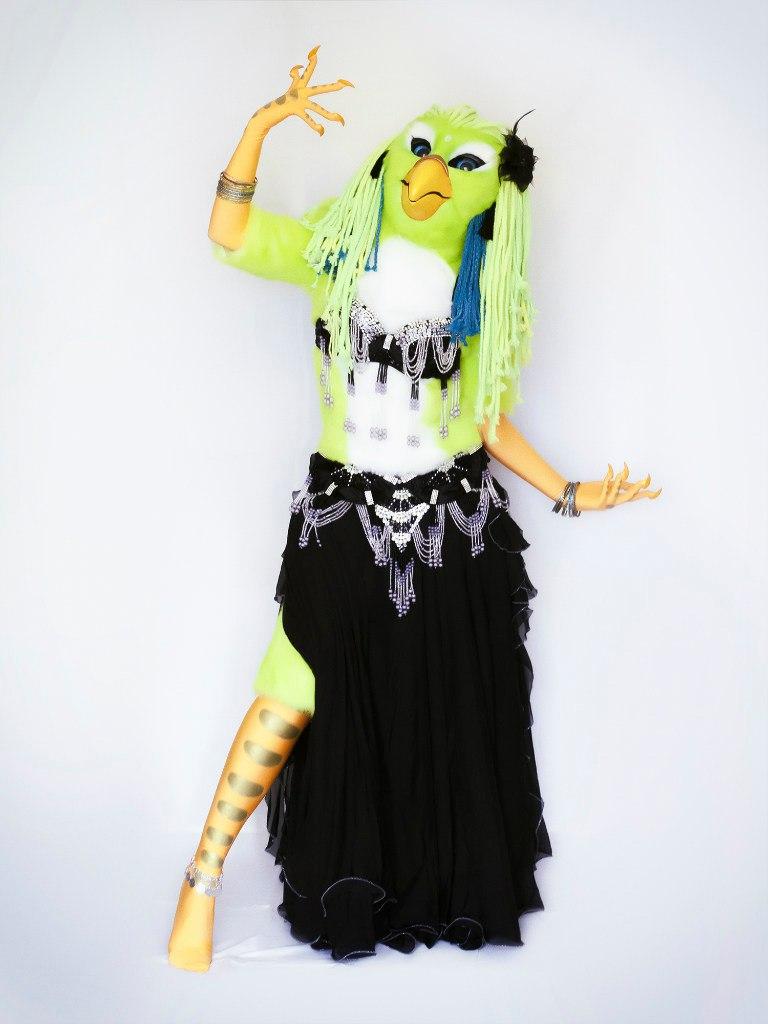 Tanhamon Parrot Girl Full Fursuit 3 By Miriambast On