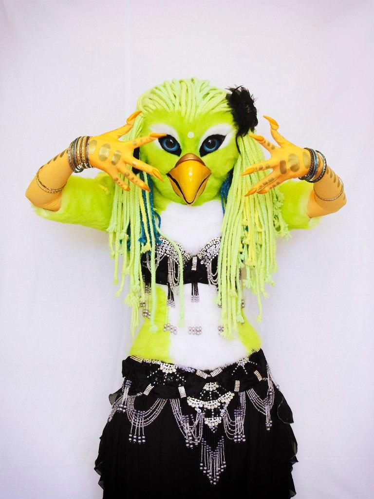 Tanhamon - parrot girl (full fursuit) - 5 by MiriamBast on ...