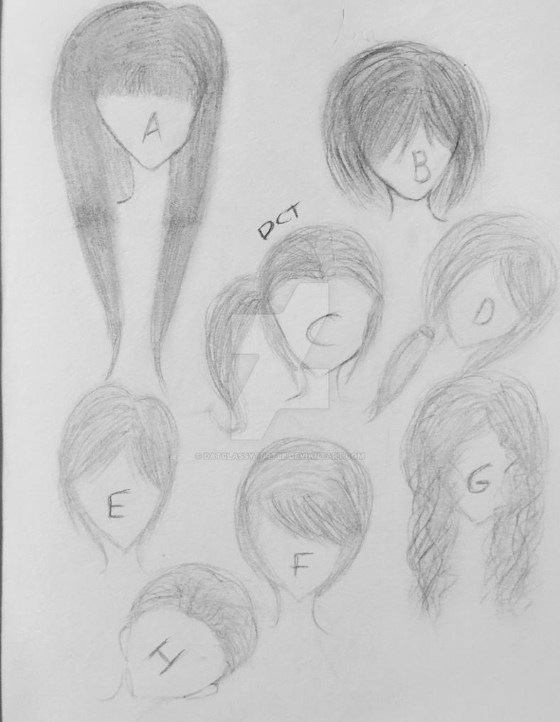 Hair~Day twenty of twenty~ART CHALLENGE DONE by DatClassyTurtle
