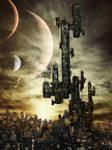Cyberpunk Cityscape -concept