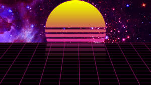 Synthwave flat