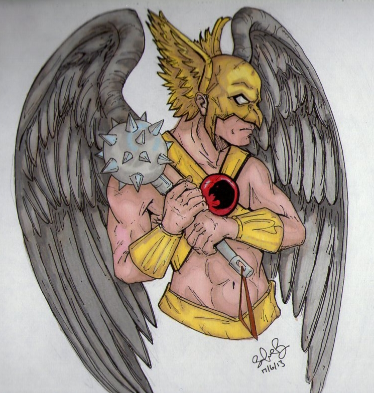 Hawkman by SilverB-2814