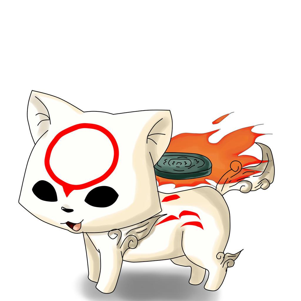Amaterasu Okami Chibi by ani-phantomhive on DeviantArt
