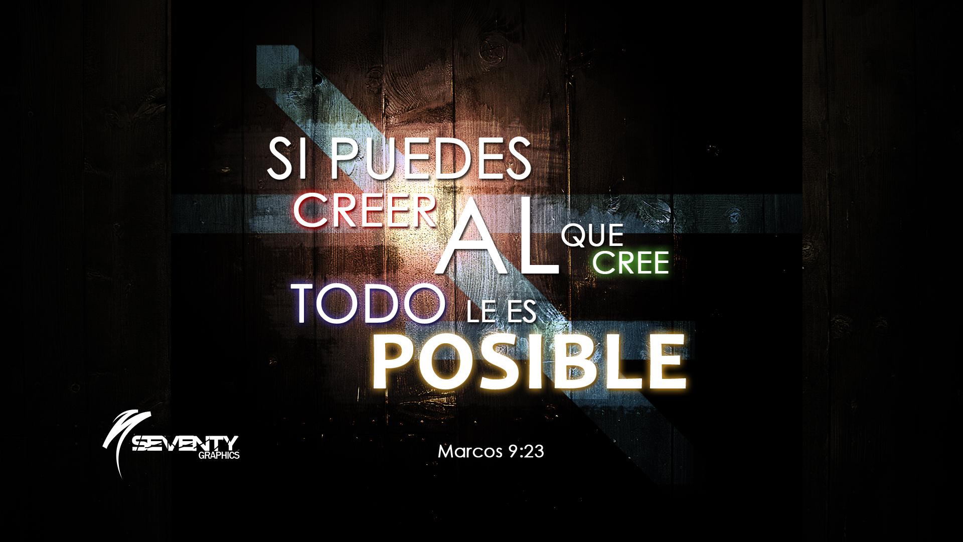 Marcos 9:23 by alejandrodearmas77 on DeviantArt