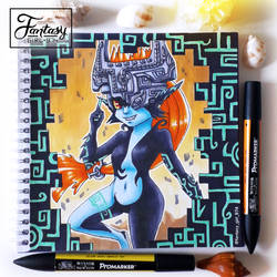Playful Midna by FantasyGirl974
