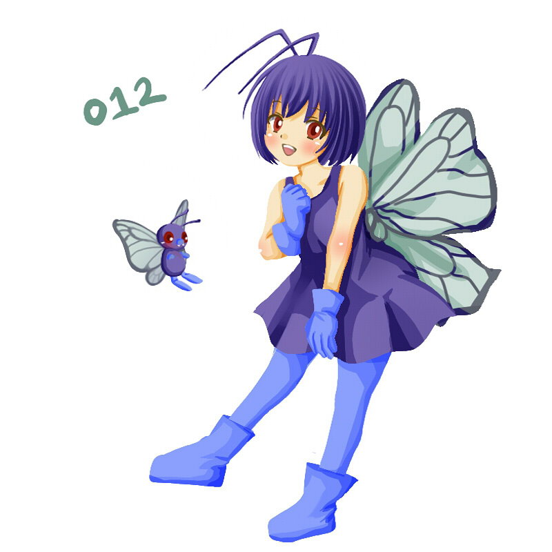 butterfree by 649pokemonchallenge on DeviantArt