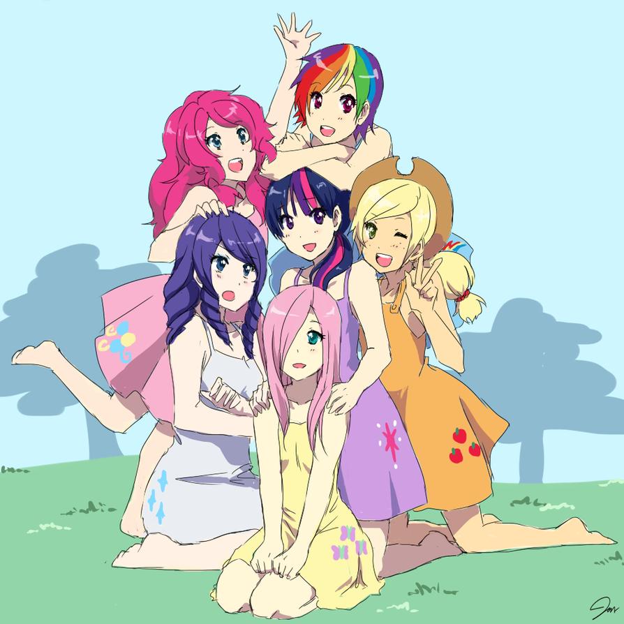 My Moe Pony by Jen-Jen-Rose