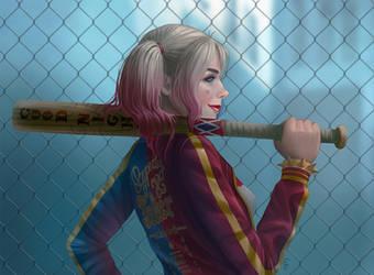 Harley Quinn by ameli-lin