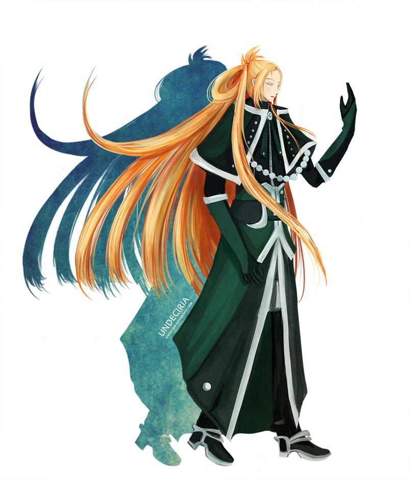 Avalon Klauz : The wise viridian guide by Undeciria