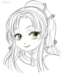 [Sketch] OC-Losuni by Undeciria