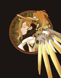 [FANART] Overwatch - Mercy by Undeciria