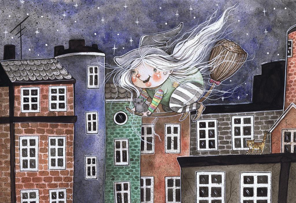 Little Witch by Eleihna
