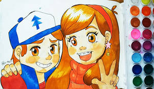 Friendship ~ Dipper and Mabel