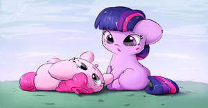 Pinks demands snuggles