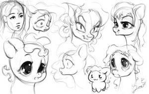 sketching fun time by Sverre93