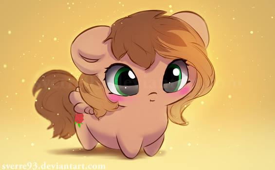 Potato pony commission: KathrineTheGamerPony oc