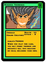 Nemenese Thunderer MS Paint Card