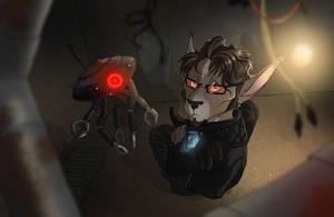 Lenik, Bothan tech-geek! by Dingoat
