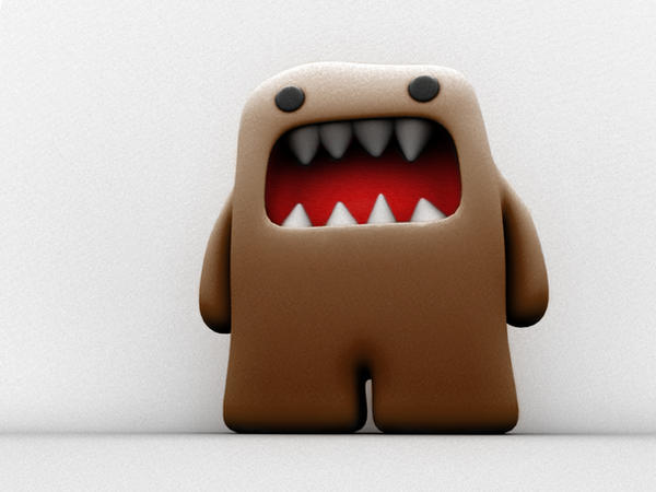 Giant Domo-kun by ~deaflux on