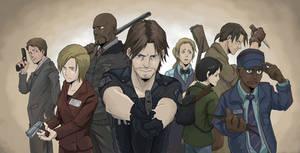 Resident Evil Outbreak by hakusekirei
