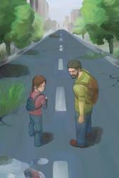 The Last of Us by hakusekirei