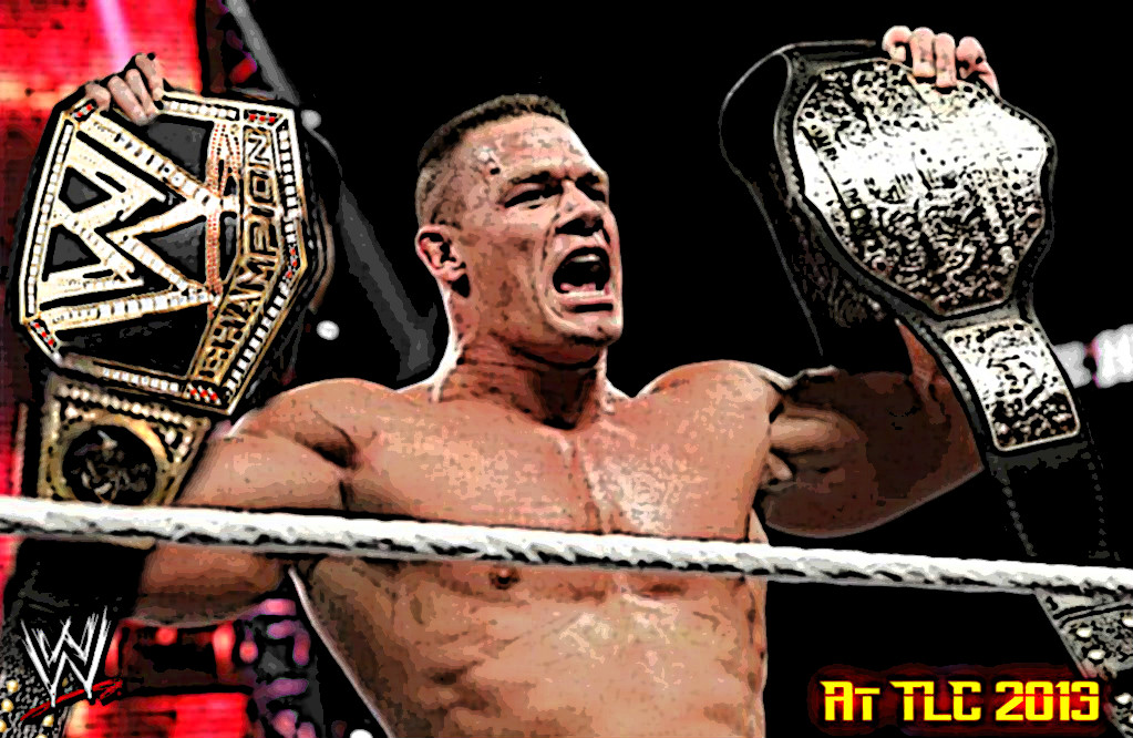 John Cena - WWE and World Champion (TLC 2013) by AnuragS13 ...John Cena Wwe Champion 2013 Champ Is Here