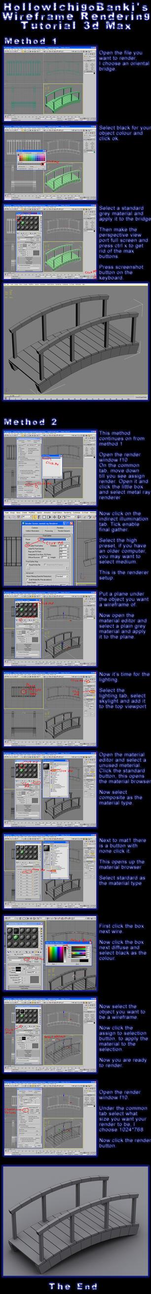 Wireframe rendering tutorial by HollowIchigoBanki