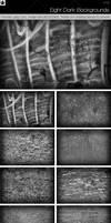 Eight Dark Backgrounds