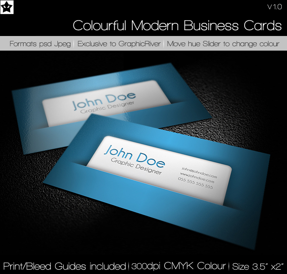 Colorful modern business cards by hollowichigobanki on deviantart colorful modern business cards by hollowichigobanki reheart Image collections