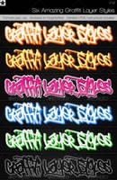 6 Amazing Graffiti Layer Style by HollowIchigoBanki