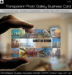 Picture Gallery Business Card