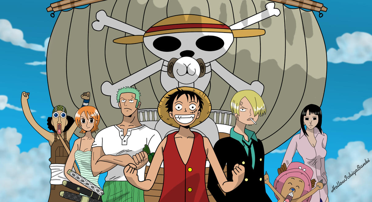 Image Gallery one piece luffy crew