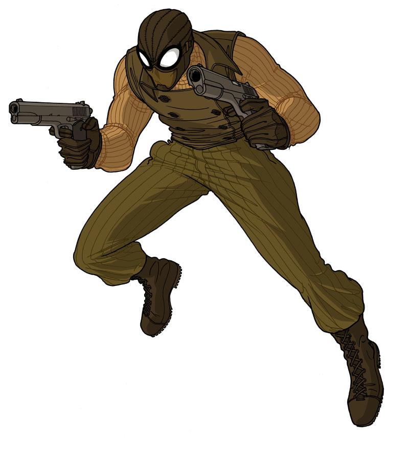 spider man noir by jet2022 on deviantart. Black Bedroom Furniture Sets. Home Design Ideas