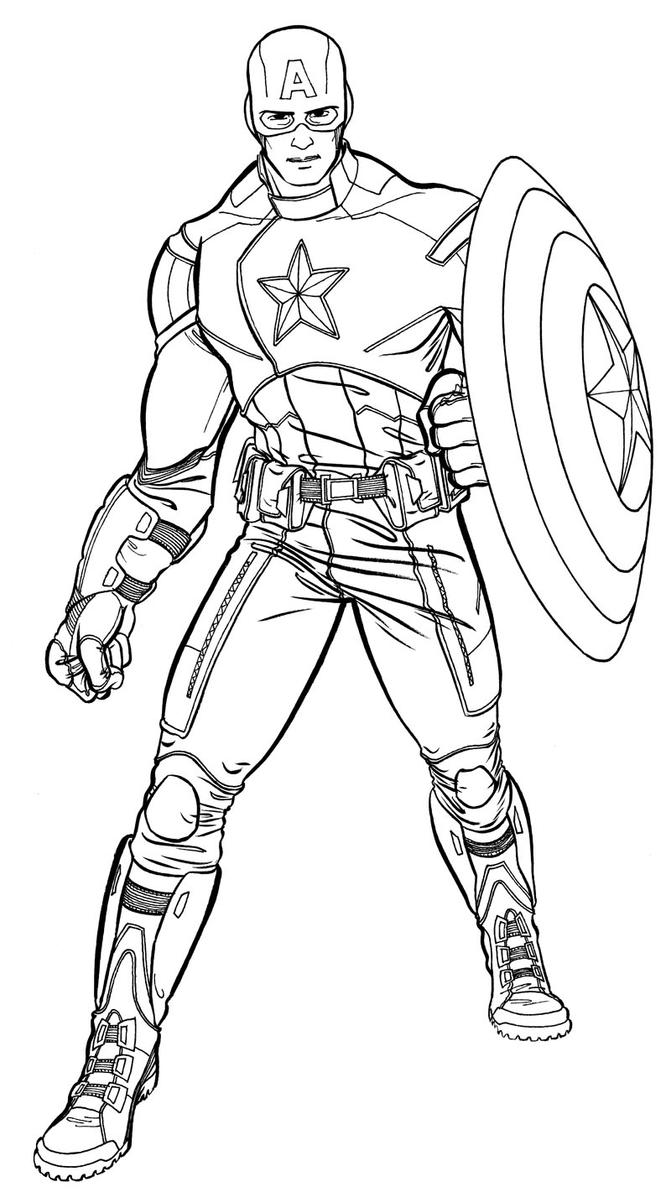 Avengers Coloring Pages Captain America : Avengers movie captain america by jet on deviantart