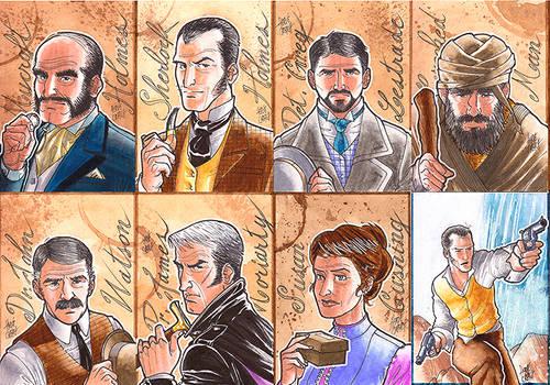 Cartes Sherlock Holmes