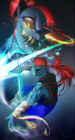 Undyne [The Undying] by CrystalKittyK