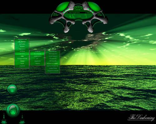 Raschen Desktop Green
