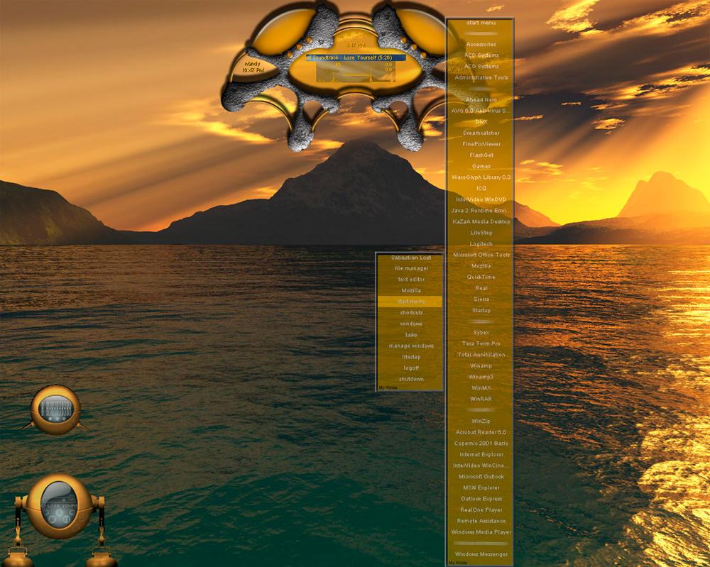 Raschen Desktop Orange by raschen
