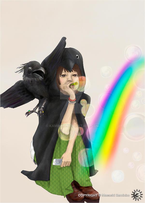Create a Rainbow by kaminko