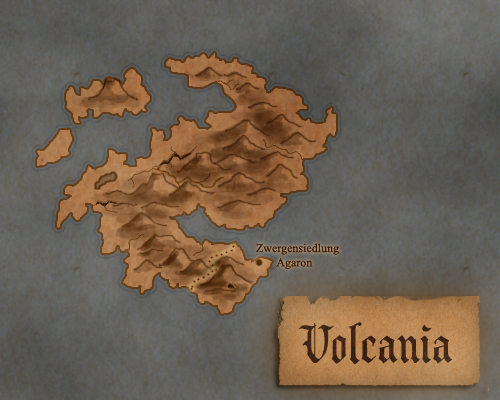 Volcania by Luned