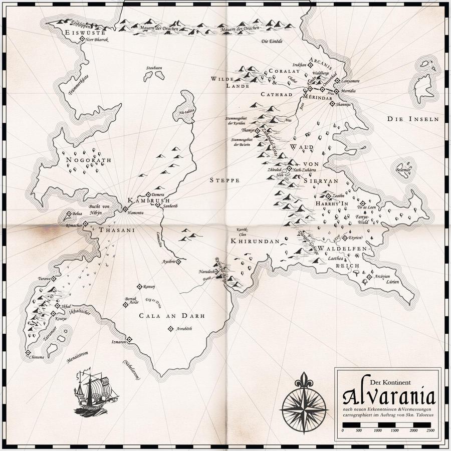 Alvarania sketch by Luned
