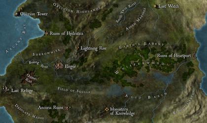 Nocturion: Haunted Bog by Luned